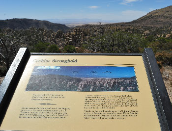 View of Cochise Stronghold